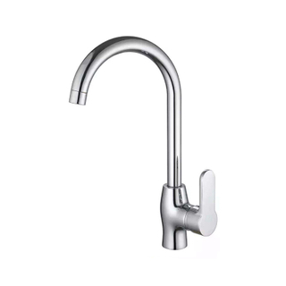 Brass Swivel Spray Single Hole Single Handle Modern Kitchen Mixers