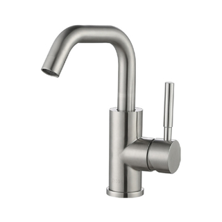 China New Models Sus 304 Solid Stainless Steel Flexible Hose Pull Out Kitchen Faucet
