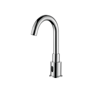 Unique Style Polished Chrome Brass Bathroom Sink Sensor Faucet