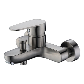 SUS 304 Stainless Steel Bathroom Shower Tub Faucet Wall-Mounted