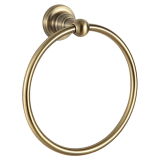 Bathroom Accessories Gold Plating Towel Ring Holder BP9107R