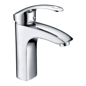 Single Lever Bathroom Sink Faucet Creative Design Vanity Basin Mixer Tap chrome plating