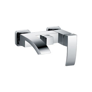 Surface Mounted Tub Shower Faucet With Single Handle