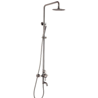 304 Stainless Steel Wall-mount Bath Tub Rain-style Shower Faucet