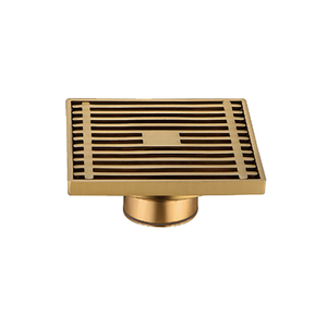 Modern Types Brass Adjustable Shower Drain Assembly