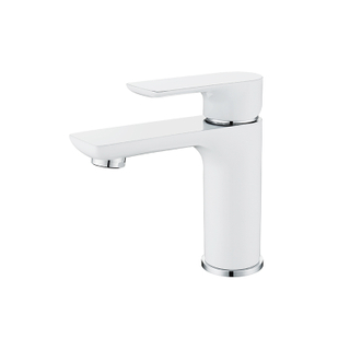 HANWEI® Single Handle Low-Arc Bathroom Basin Faucet