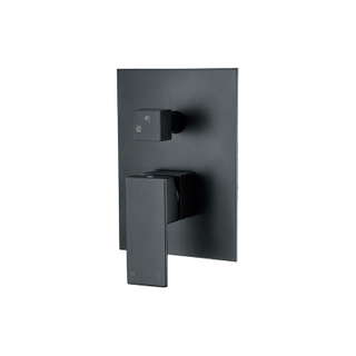 Single-Handle 1-Spray Tub And Shower Faucet In Black