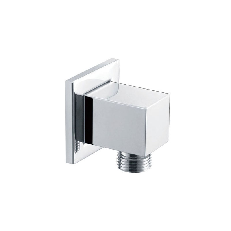 Bathroom Chrome Brass Shower Outlet Elbow WT11