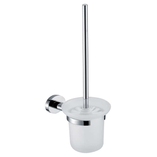 Best Price Chrome Toilet Brush And Holder For Cleaning