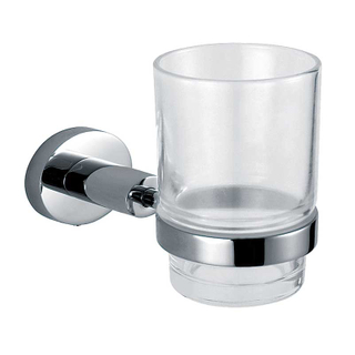 Single Toothbrush Holder And Cup Set For Bathroom
