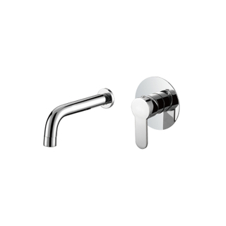 Chrome 1 Hole Single Handle Brass Bathroom Basin Faucet