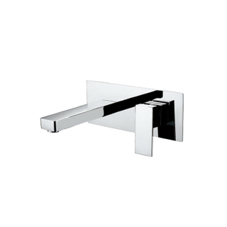 HANWEI Modern Single Hole Brass Bathroom Basin Taps