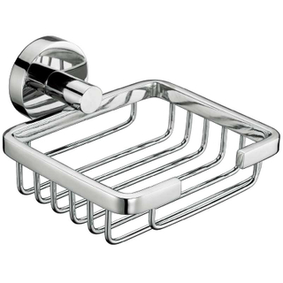 Wall Mount Brass Soap Dish Holder In Chrome Polish BP8206