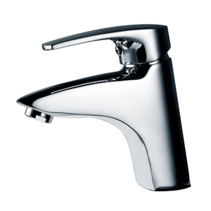 High quality European chrome single handle mixer tap bathroom basin faucet