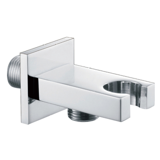 Bathroom Chrome Brass Shower Outlet Elbow WT07