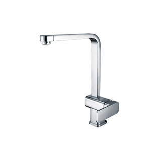 HANWEI® Single-Control Kitchen Faucet With Color-Matched Sprayhead And Lever Handle