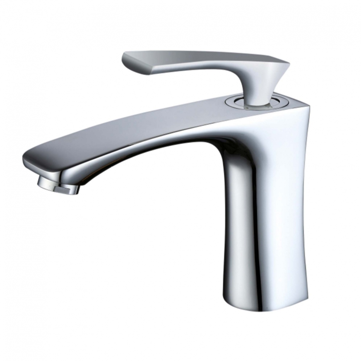 Single Handle Bathroom Sink Faucet Solid Brass Basin Mixer Taps