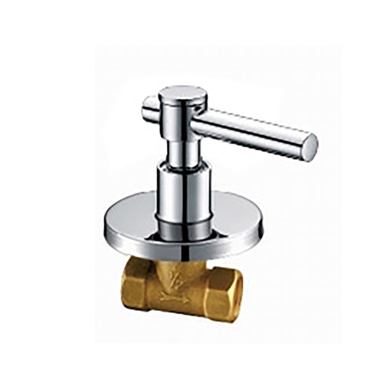 Bathroom Chrome Copper Stop Cock With Single Lever