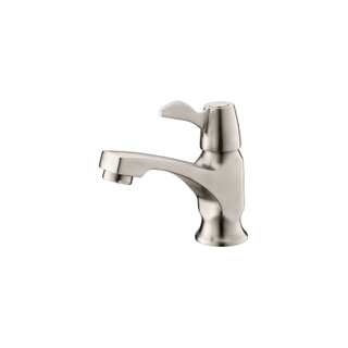 Cold stainless steel water tap for bathroom wash basin