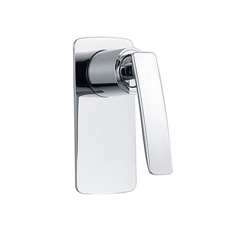 Single Handle Chrome Brass Concealed Shower Mixer