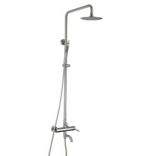 China Factory Rain Shower Systems SUS304 Hotel Shower Combo Set