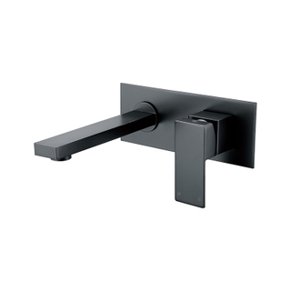 Square Bathroom Faucet With Single Lever