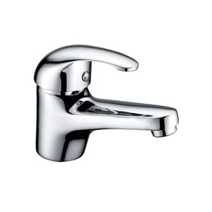 Competitive Bathroom Chrome Copper Wash Basin Faucet With Single Lever