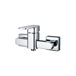Single Handle Surface Mounted Brass Shower Mixer Taps