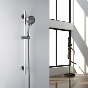 Shower Sliding Bar With Adjustable Height