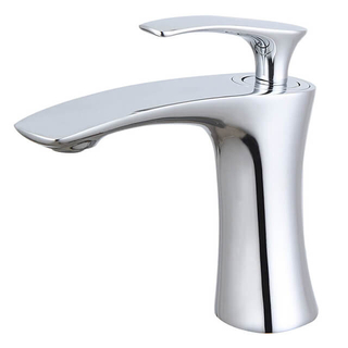 Basin Faucet | Brass Single Handle Basin Faucet | Chrome One Hole Bathroom Sink Faucets