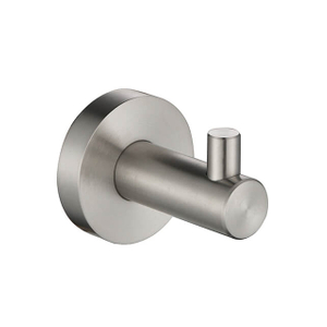 Single Robe Hook | Wall Mounted Bath Single Robe Hook | Stainless Steel Bathroom Single Robe Hooks