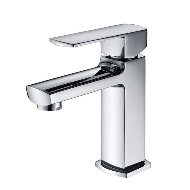 Brass Watermark Basin Faucet | Single Handle Deck Mounted Bathroom Sink Faucet
