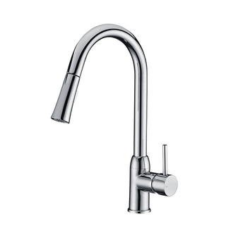 Watermark Pull Out Kitchen Faucet | Brass Kitchen Sink Faucet with Sprayer