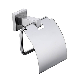 Stainless Steel Toilet Paper Holder | Square Toilet Paper Holder | Australia Type Toilet Paper Holder with Cover