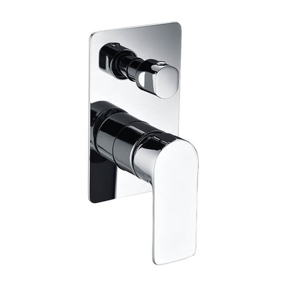 Brass Wall Mounted Shower Mixer | Watermark Bathroom Concealed Shower Diverter Shower Mixer