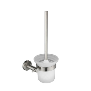 Toilet Brush Holder | Stainless Steel Bath Toilet Brush Holder | Wall Mounted Toilet Brush Holder For Bathroom
